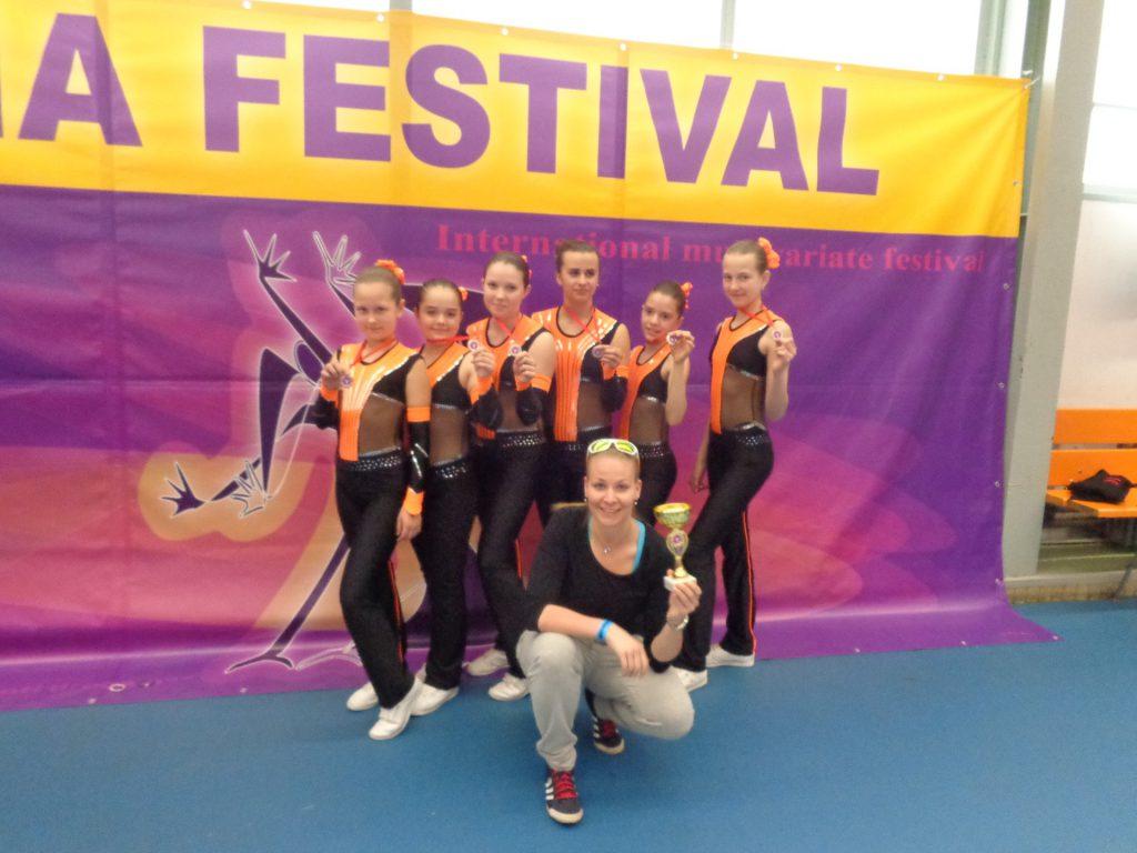 Aerobik klub Ostrava - závodní tým