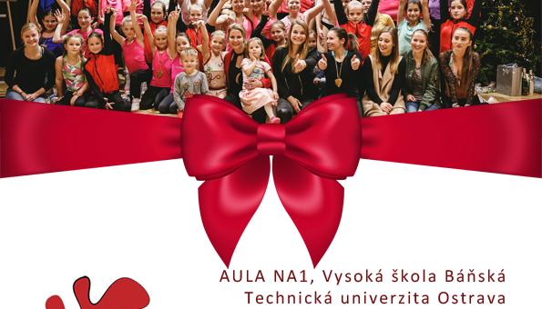 Vánoční show Aerobik Klubu Ostrava 2017 byla úžasná! Děkujeme