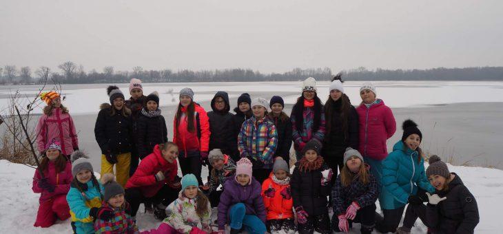 Tvrdá dřina a tuhá zima – holky z klubu se připravovaly na novou závodní sezónu