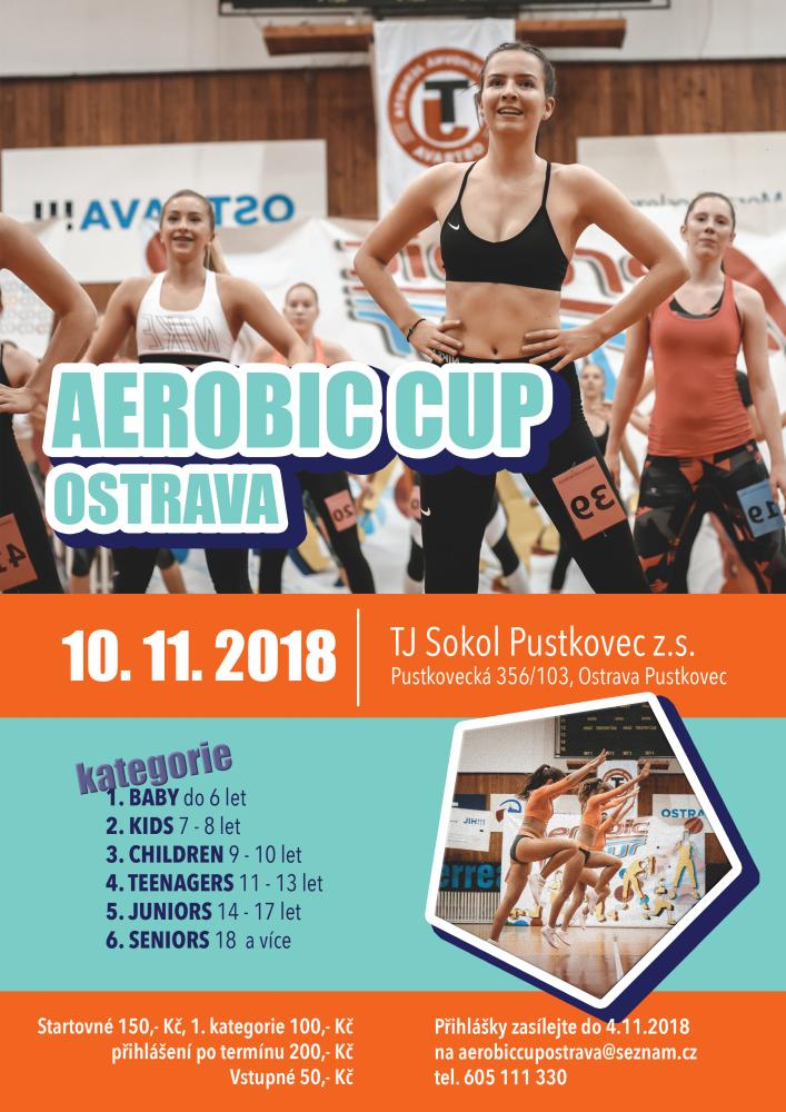 AEROBIC CUP OSTRAVA 2018 – přihlašování otevřeno