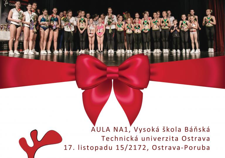 Vánoční show 2018 Aerobik klubu Ostrava – nepřekonatelná záplava energie