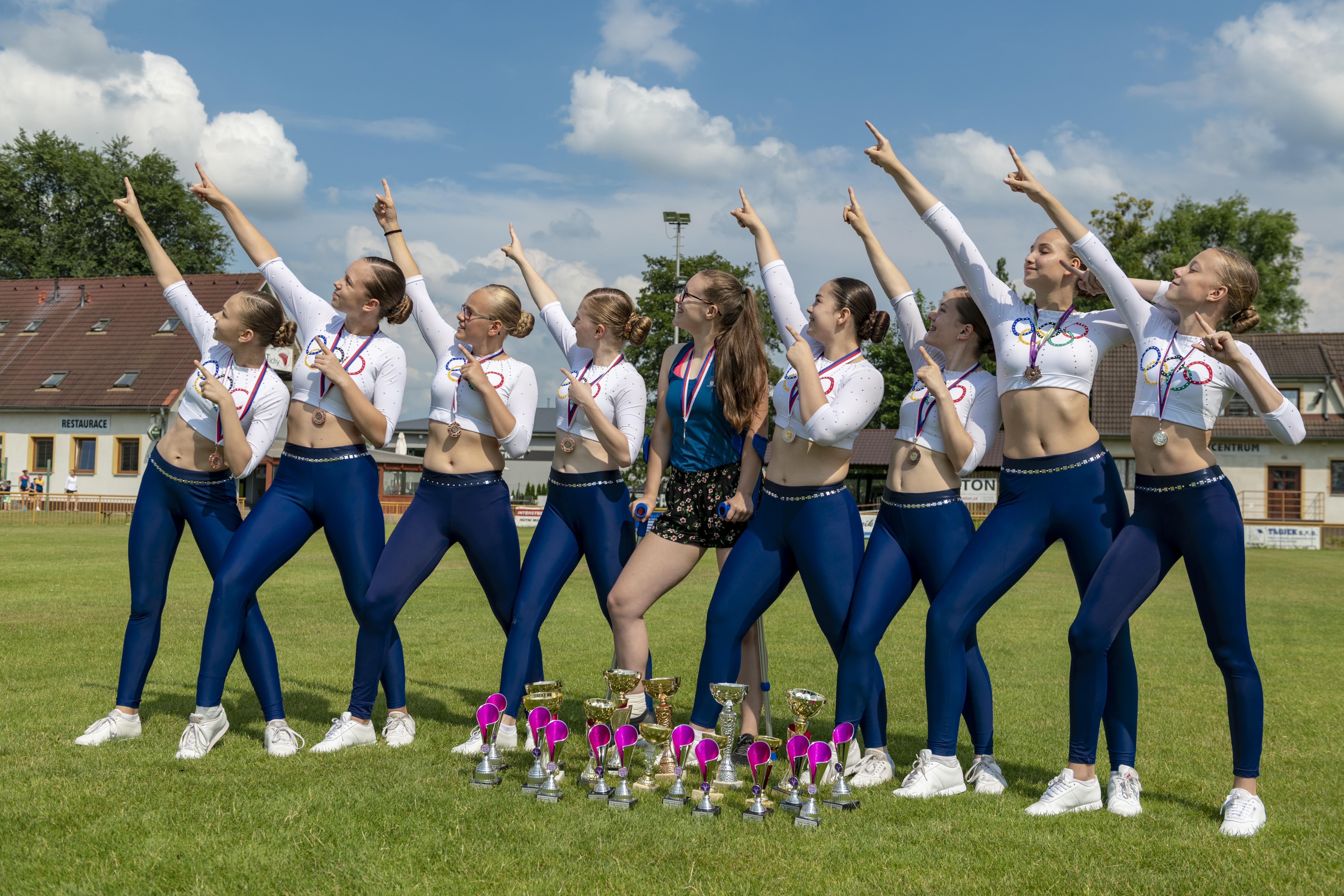 Aerobik Klub Ostrava - úspěchy 2019