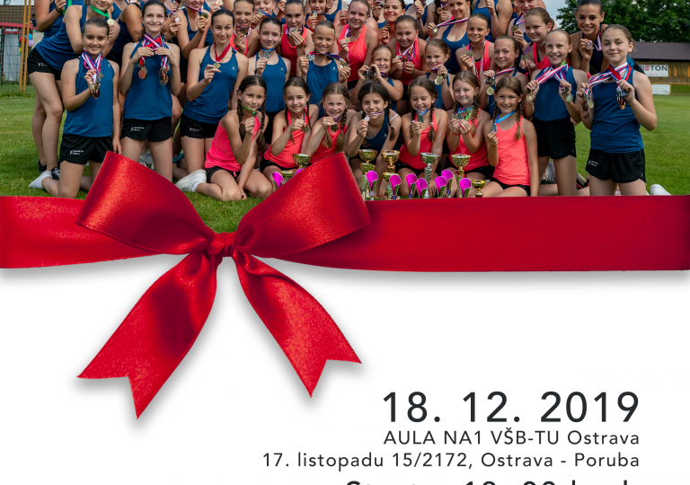 VÁNOČNÍ SHOW Aerobik Klubu Ostrava 18. 12. 2019