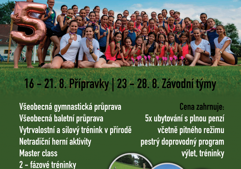 Letní sportovní campy 2020