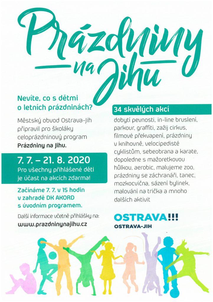 Prázdniny na Jihu s Aerobik Klubem Ostrava